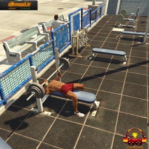 دانلود مد بدن سازی برای بازی GTA V