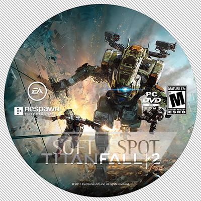 لیبل دیسک Titanfall 2