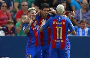 نتیجه بازی دیشب بارسلونا و گرانادا 8 آبان 95 فیلم گلها و خلاصه