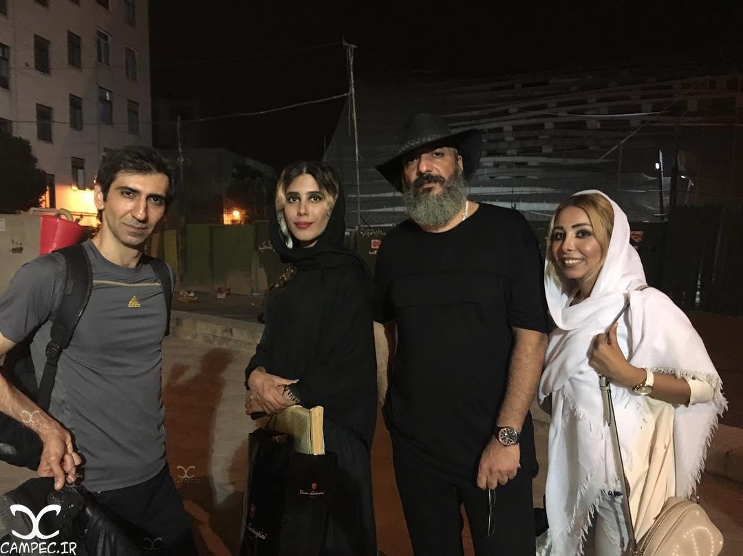 عکسها و بیوگرافی سینا رازانی