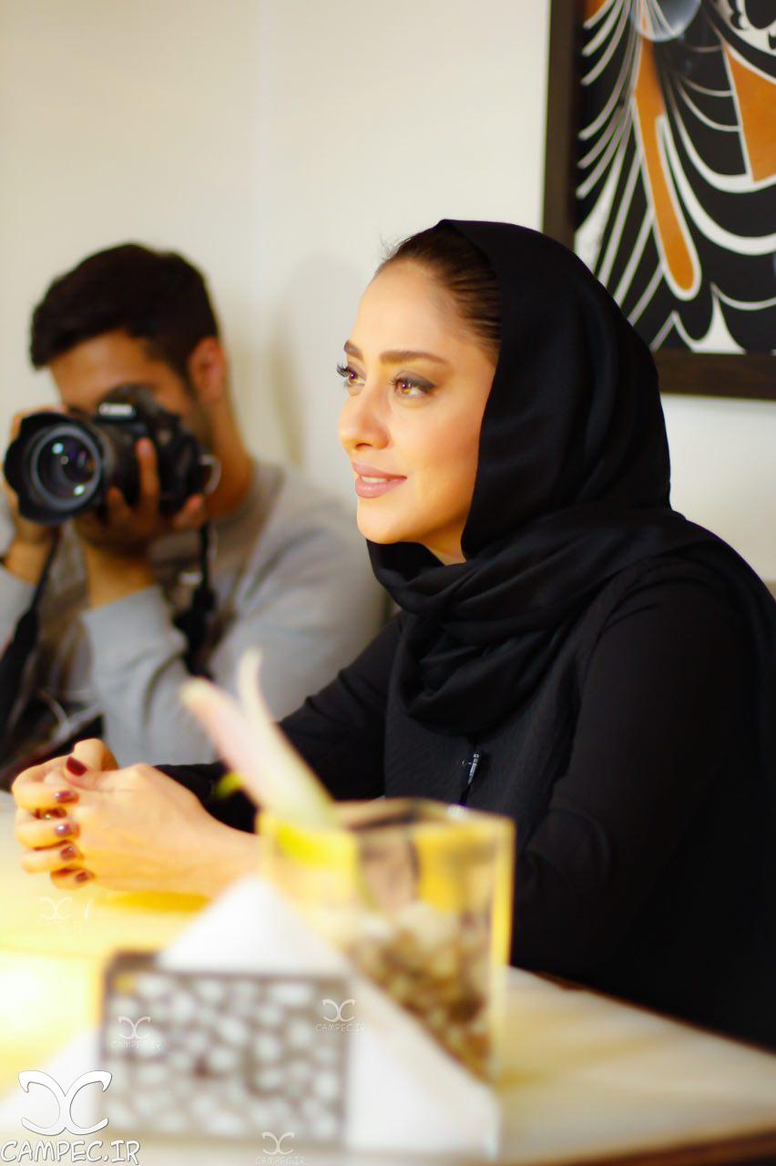 بهاره کیان افشار در دورهمی خصوصی سریال عاشقانه