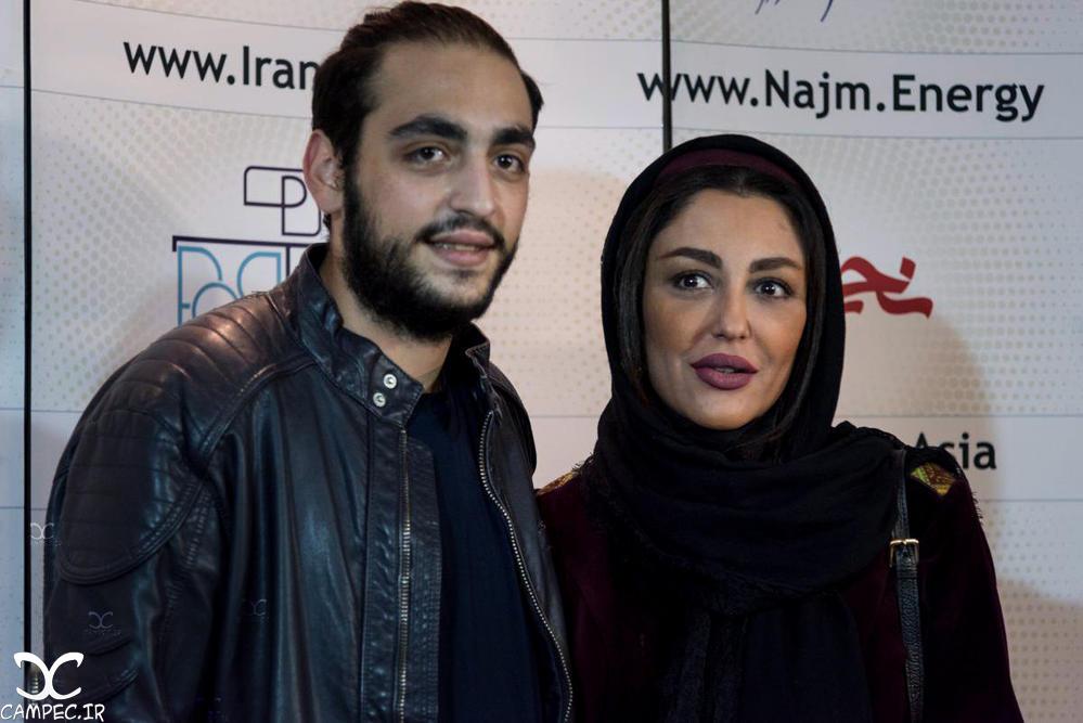 شقایق فراهانی با پسرش در اکران خصوصی فیلم جاودانگی