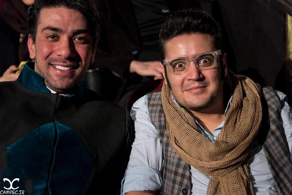 مهران رنجبر در اکران خصوصی فیلم جاودانگی