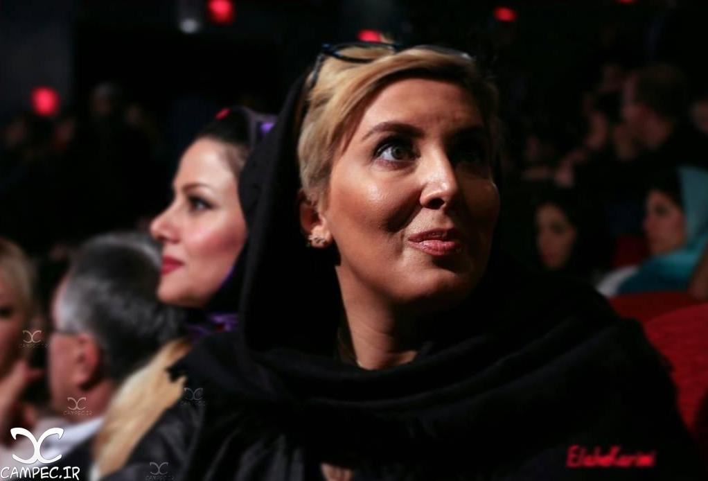 لیلا بلوکات در مراسم اکران فیلم جاودانگی