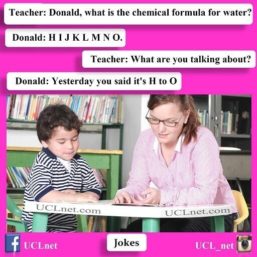 جک معلم و دانش آموز به زبان انگلیسی