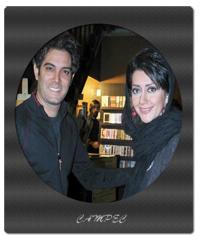 تصاویر جدید از امیر علی نبویان با همسرش