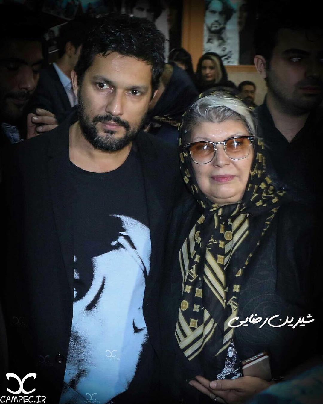 حامد بهداد با مادرش
