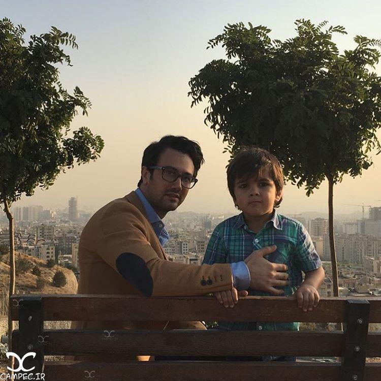 شاهرخ استخری بازیگر سریال ماه و پلنگ