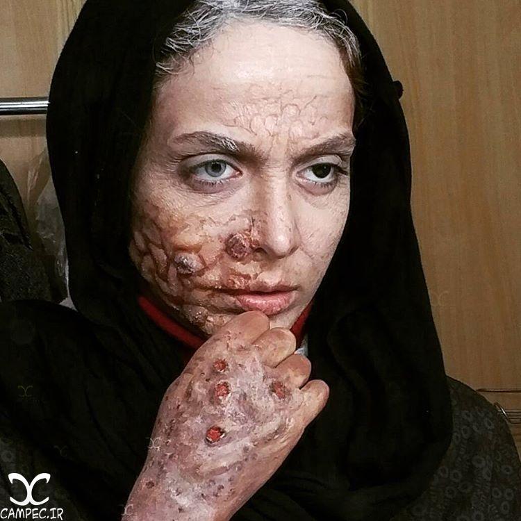 گریم المیرا دهقانی در سریال هشت و نیم دقیقه