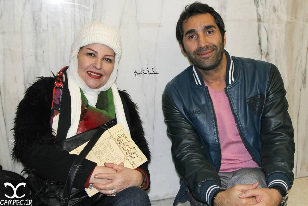 هادی کاظمی و اکرم محمدی