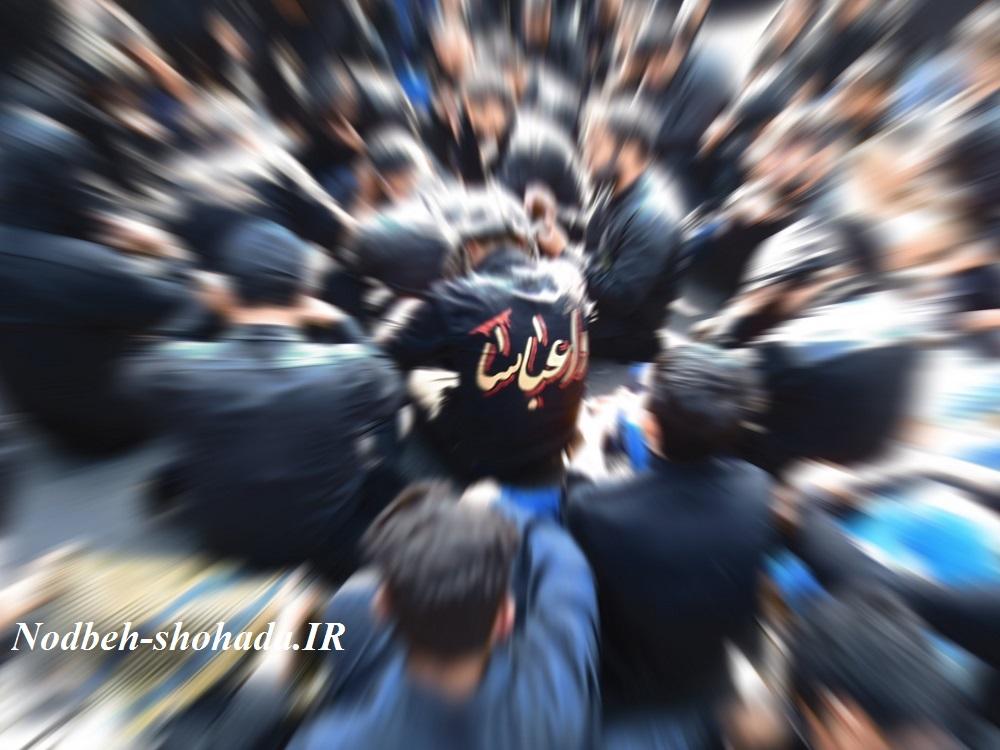 عکس واعباس هیئت حاجی غفار مراغه تصاویر محرم 95