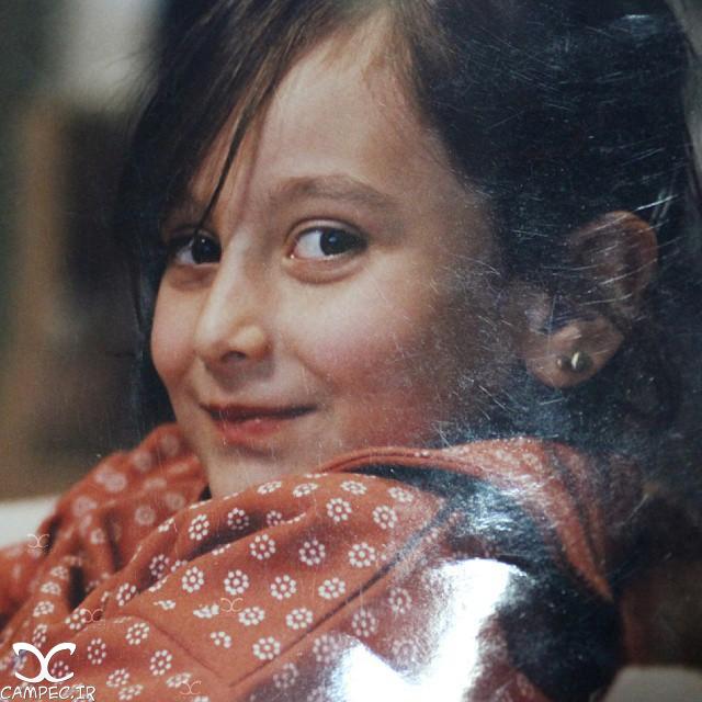 عکس بچگی سایان فرخی