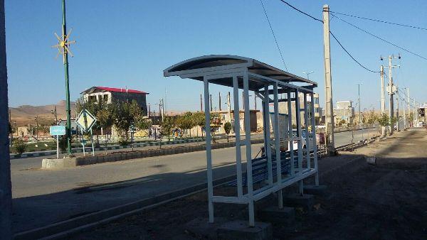 جانمایی و نصب ایستگاه اتوبوس در ورودی بلوار یادگار امام (ره)