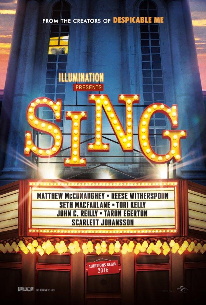 تریلر فیلم Sing (2016)