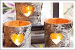 تزیین شمع های پاییزی