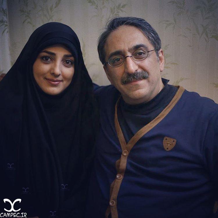 شهرام شکیبا با همسرش ستاره سادات قطبی