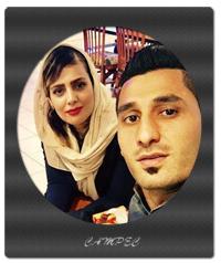 بیوگرافی محمد رشید مظاهری و عکسهایی با همسرش