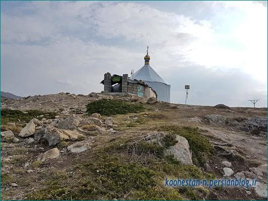 قله امامزاده قاسم الیمستان
