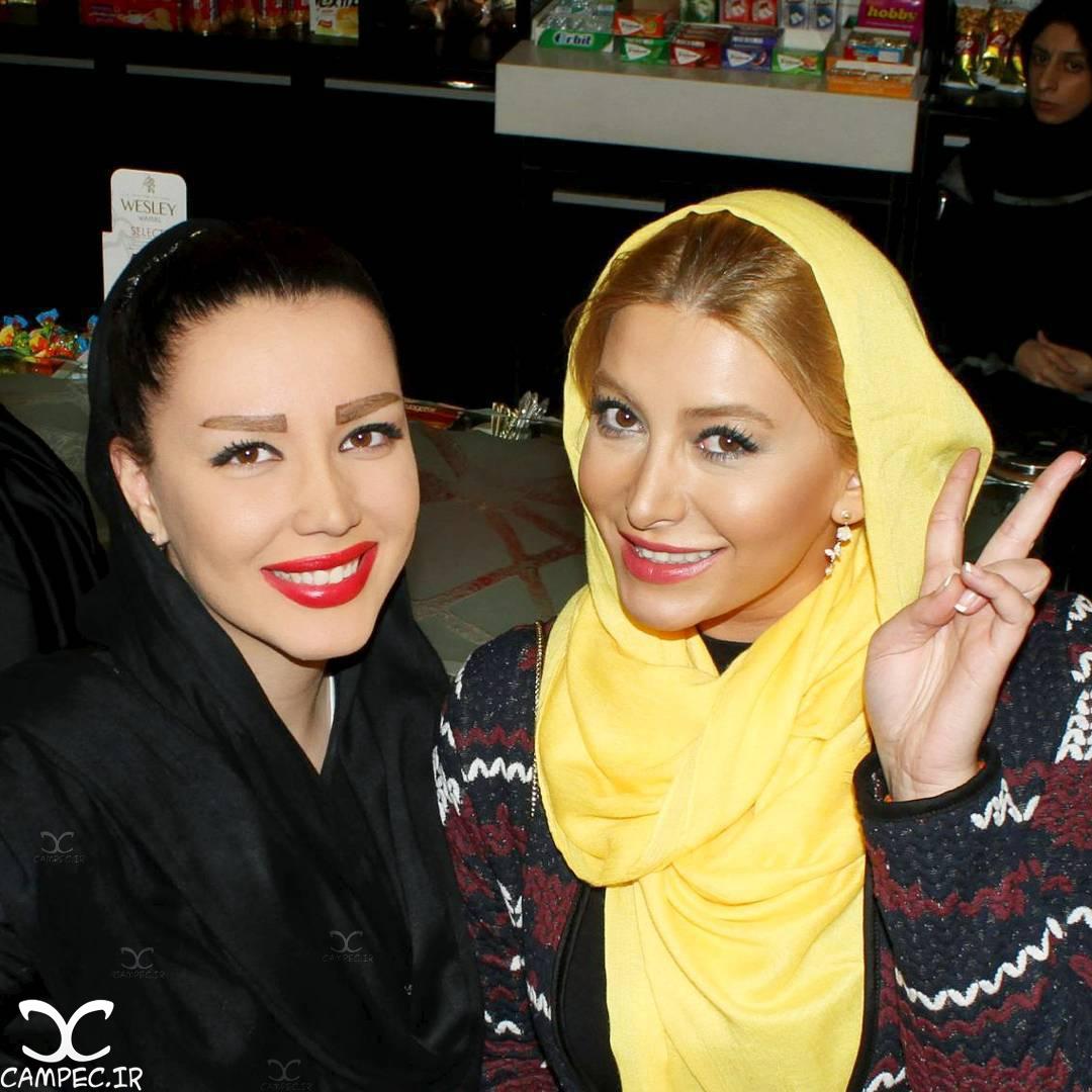 شیما شهامتی و فریبا نادری