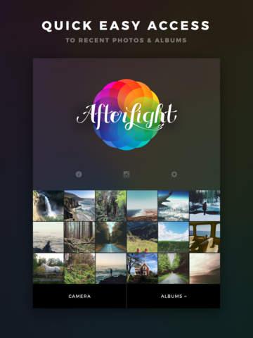 دانلود برنامه ویرایش عکس Afterlight برای آیفون و آیپد