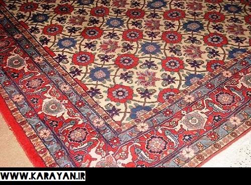 طرح بندی ورامین یا میناخانی در فرش