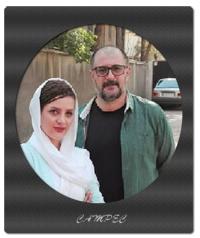 عکسها و بیوگرافی کامل علی دهکردی با همسرش