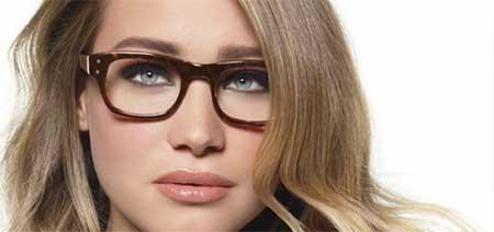 آرایش چشم زیبا مخصوص خانم های عینکی