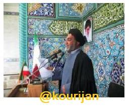 حجت الاسلام حسینی مجد امام جمعه  اسد آباد