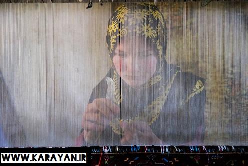 صنعت قالی بافی قوم ترکمن