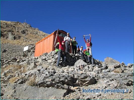 جانپناه در مسیر قله سیادر