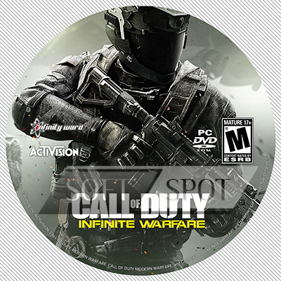 لیبل دیسک Call of Duty: Infinite Warfare