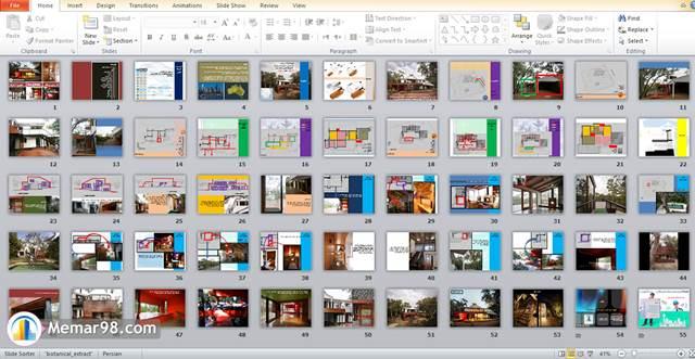 تحلیل پروژه Anglesea House