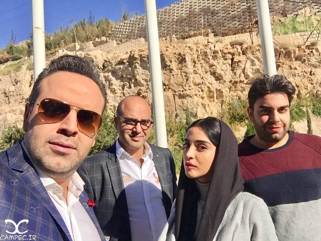 هنرمندان سریال هشت و نیم دقیقه در شیراز