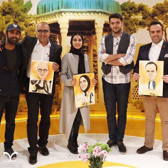 الهه حصاری و بهرنگ علوی در خوشا شیراز