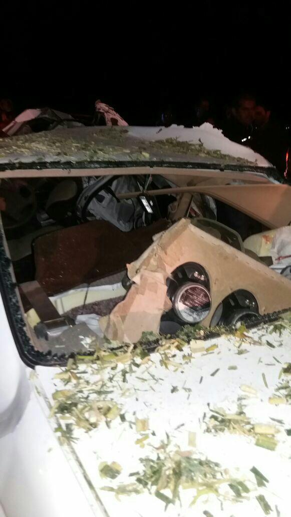 تصادف در عایوند