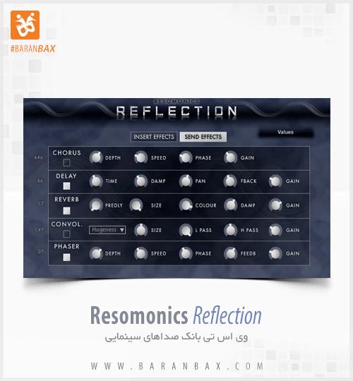 دانلود وی اس تی بانک صداهای سینمایی Resomonics Reflection
