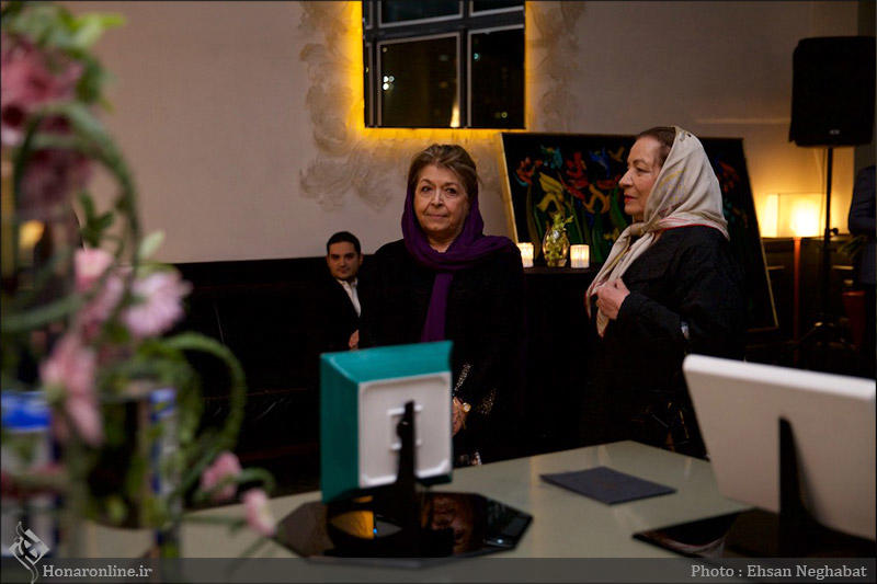 لیلی گلستان در افتتاحیه برند استفانو ریچی در تهران