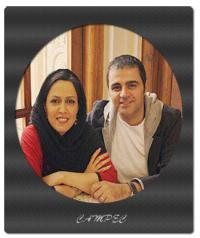 عکسها و بیوگرافی رضا مولایی با همسرش شیوا اردوئی