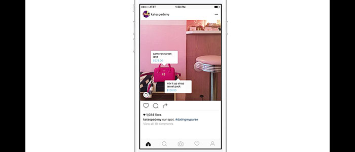 امکان خرید اجناس برای صفحات برندهای مشهور در اینستاگرام فعال می شود