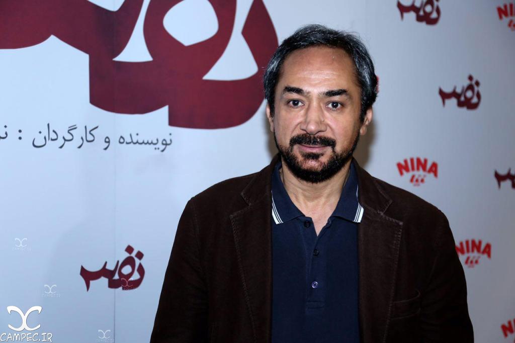 محمد حاتمی در اکران خصوصی فیلم نفس