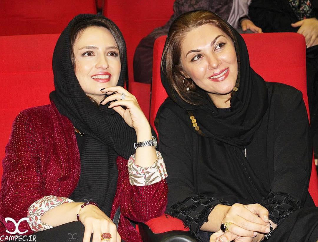 لاله اسکندری و گلاره عباسی در اکران خصوصی فیلم نفس