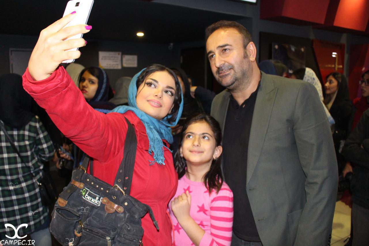 مهران احمدی در اکران خصوصی فیلم نفس