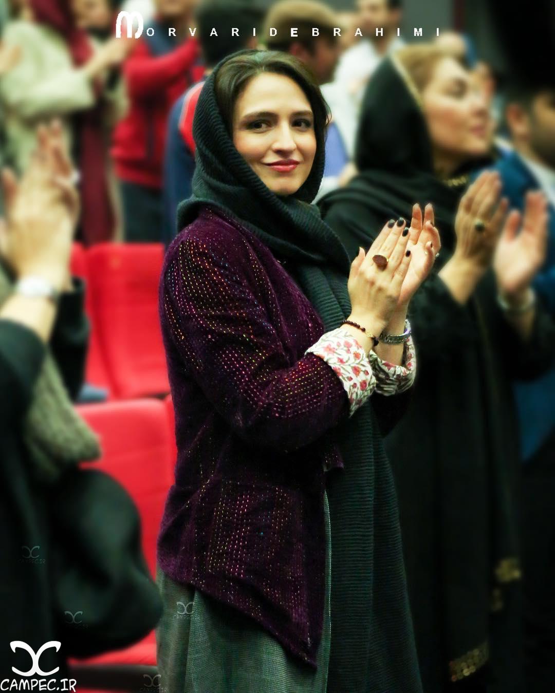 گلاره عباسی در اکران خصوصی فیلم نفس