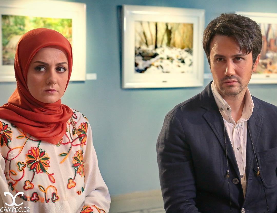بیتا سحرخیز و شاهرخ استخری در سریال ماه و پلنگ