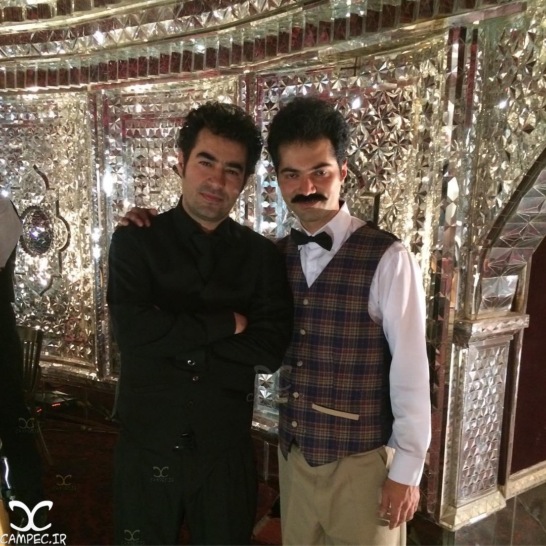 شهاب حسینی در پشت صحنه فصل دوم شهرزاد