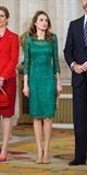 لباس مجلسی گیپور سبز
