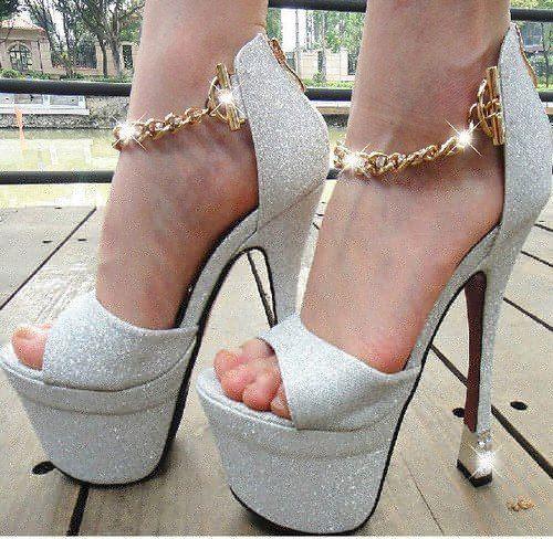 مدل کفش پاشنه بلند شیک عروس سری 1