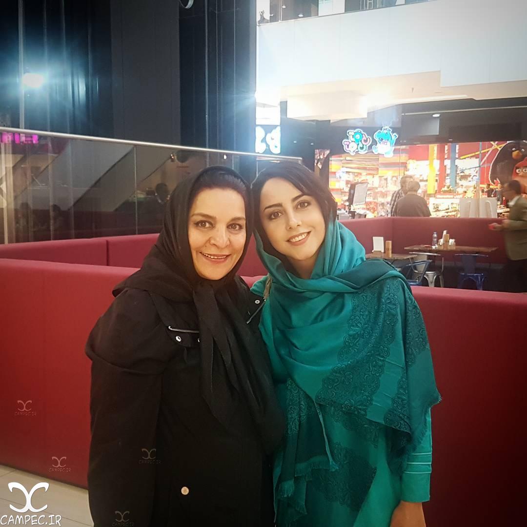 ایران مسعودی با تهمینه میلانی