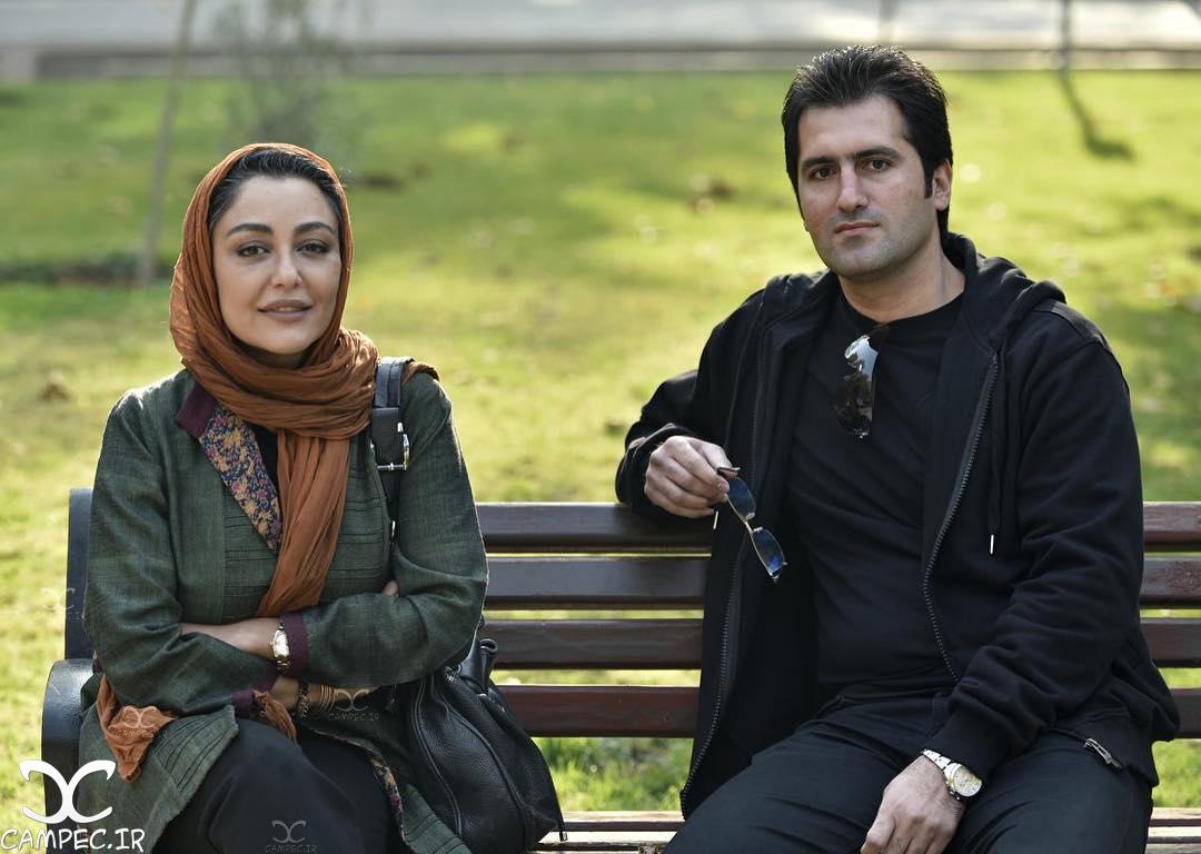 شقایق فراهانی در پشت صحنه فیلم آزاد به قید شرط