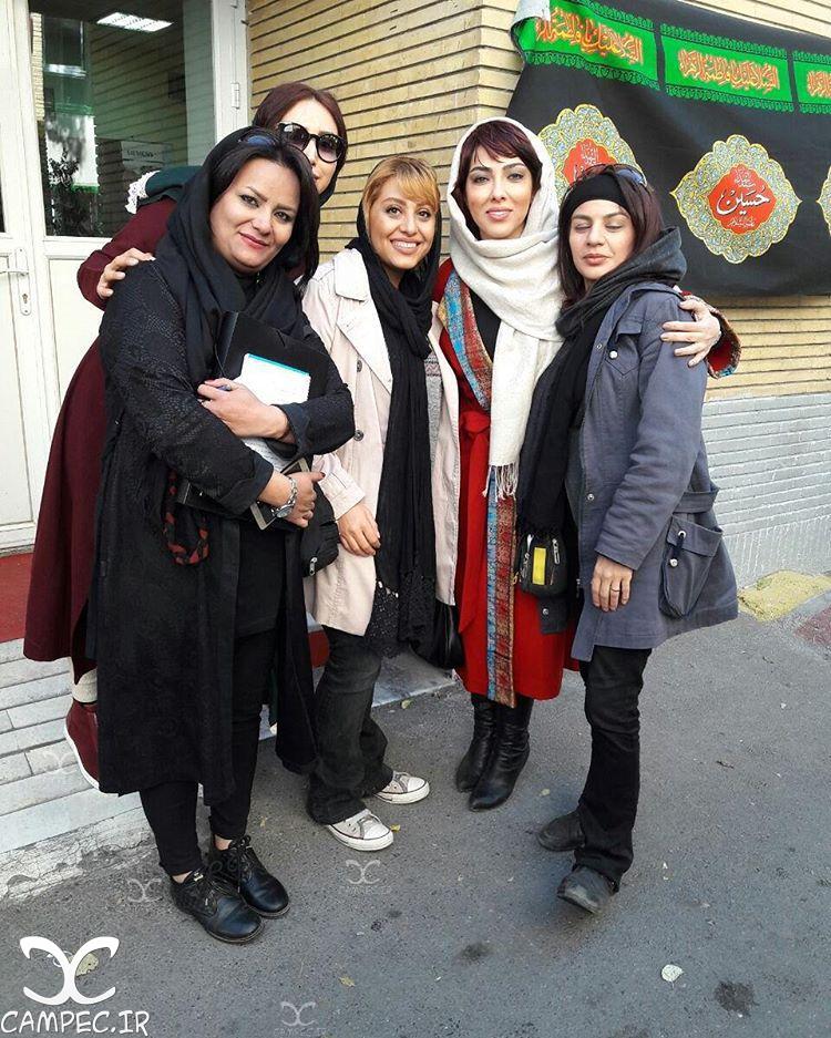 لیلا اوتادی با گریم فیلم آزاد به قید شرط